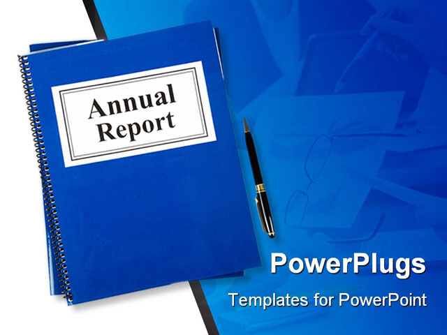 types business reports ppt background