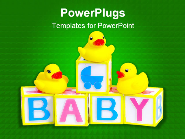 Baby Shower Powerpoint Template - 65486403