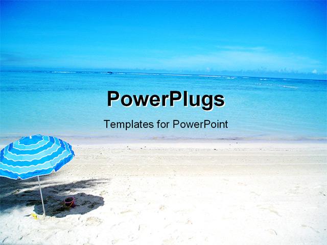 free beach powerpoint templates