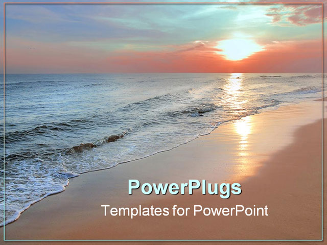 powerpoint templates free download sea gallery - powerpoint, Modern powerpoint