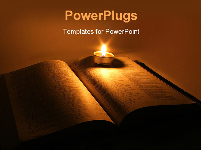 Bible powerpoint templates free scripture reading background for powerpoint template a book with a candle and its light in bible powerpoint templates free toneelgroepblik Gallery