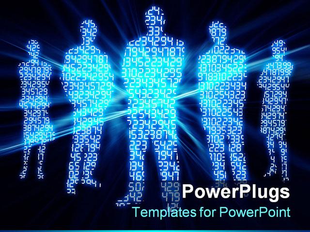 binary powerpoint template images - templates design ideas, Modern powerpoint