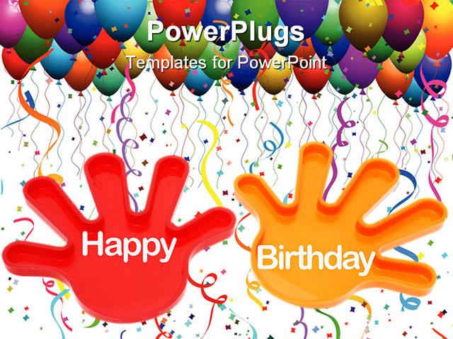 Gallery For Gt Birthday Frames Templates Free Birthday Powerpoint