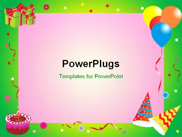 Powerpoint Birthday Templates Free Birthday Powerpoint Templates