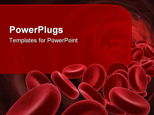 blood cells powerpoint templates powerpoint presentation on blood