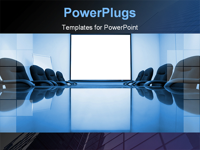 PowerPoint Template about boardroom, meeting, room