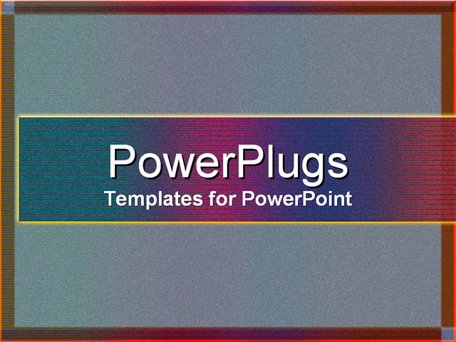 PowerPoint Template about abstract, frame, texture