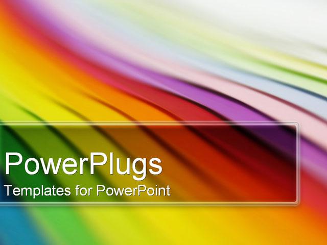 Rainbow powerpoint template free mandegarfo rainbow powerpoint template free toneelgroepblik Gallery