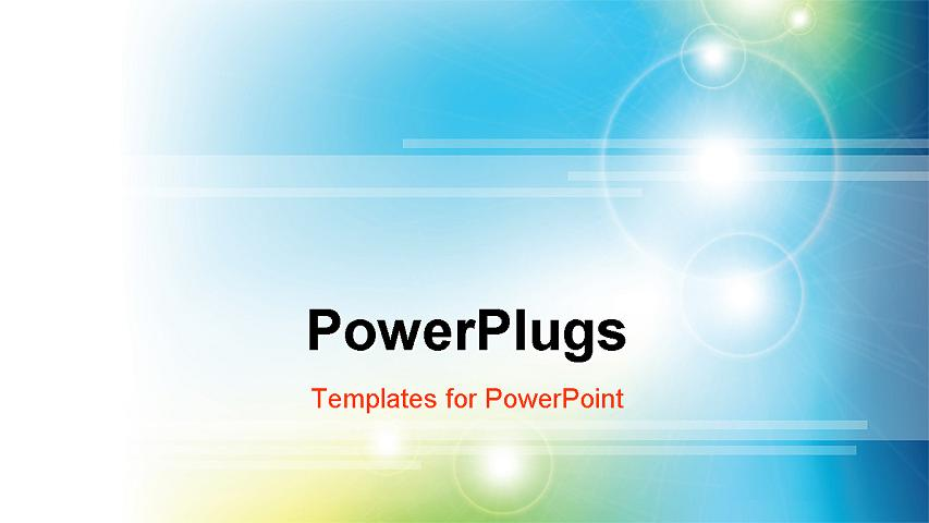 PowerPoint Template about business, abstract, art