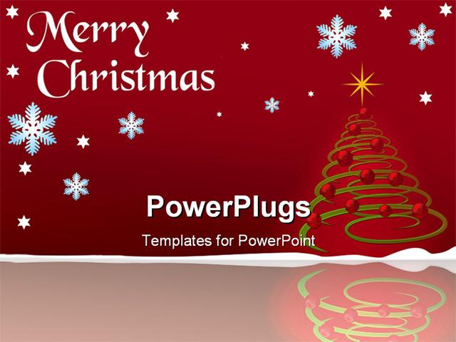 powerpoint christmas card template
