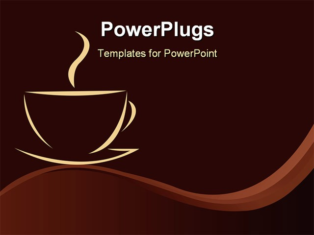 Free coffee powerpoint template toneelgroepblik Images