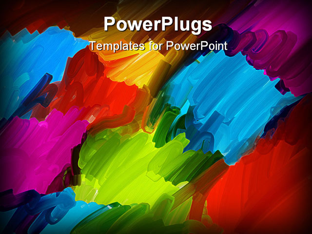 powerpoint template about artists background 1 abstract acrylic