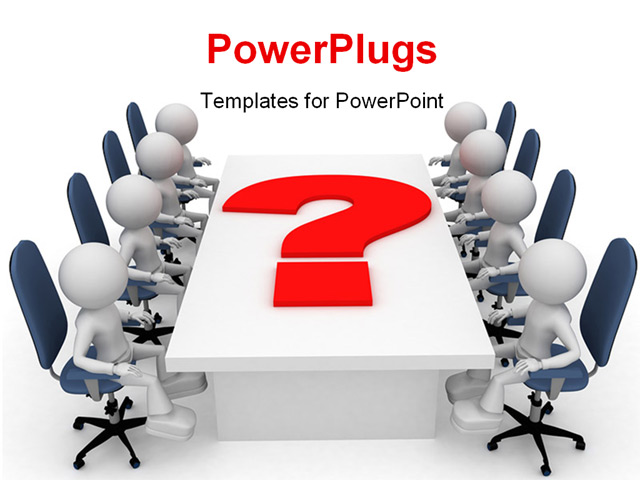 powerpoint template question and answers