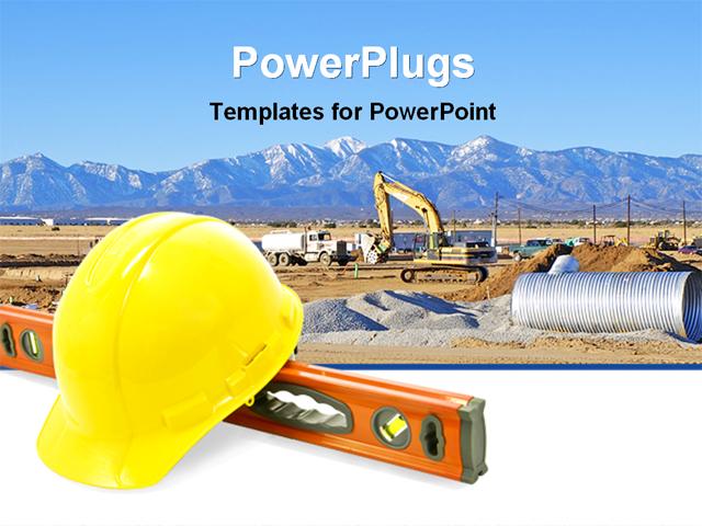 construction powerpoint presentation templates