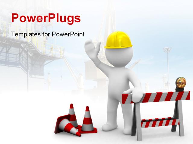building construction powerpoint template backgrounds, Templates