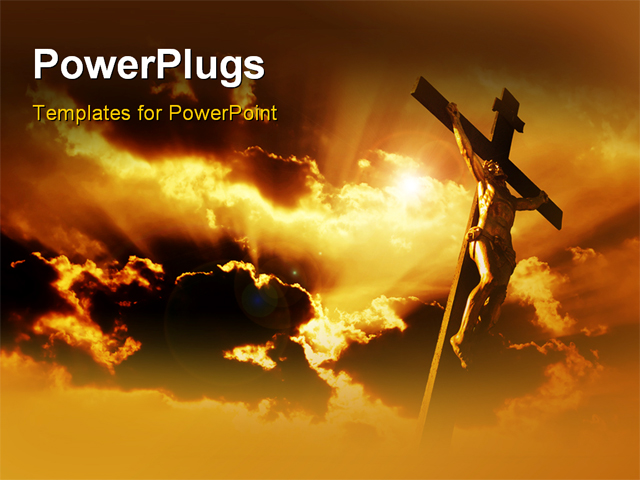 Best Crucifixion PowerPoint Template