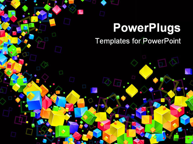 Colorful Abstract Powerpoint Templates Powerpoint Template Colorful