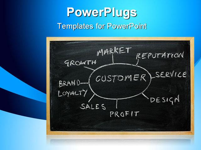 customer powerpoint template