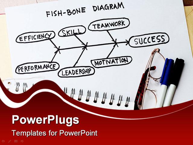 Fishbone diagram template powerpoint toneelgroepblik Choice Image