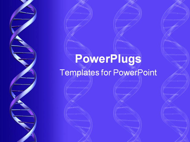 Dna Backgrounds For Powerpoint Powerpoint Template Dna