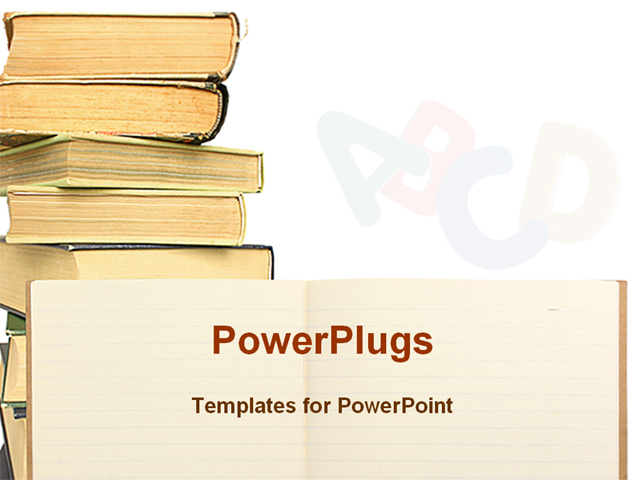 snap powerpoint templates books theme free image collections