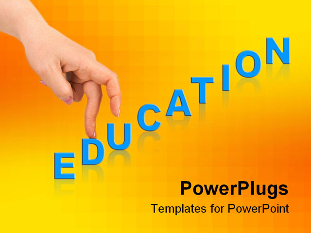 Powerpoint Background Hands Powerpoint Template Hand And