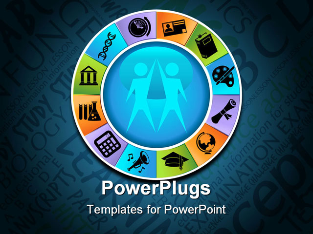Wheel Powerpoint Template Powerpoint Template