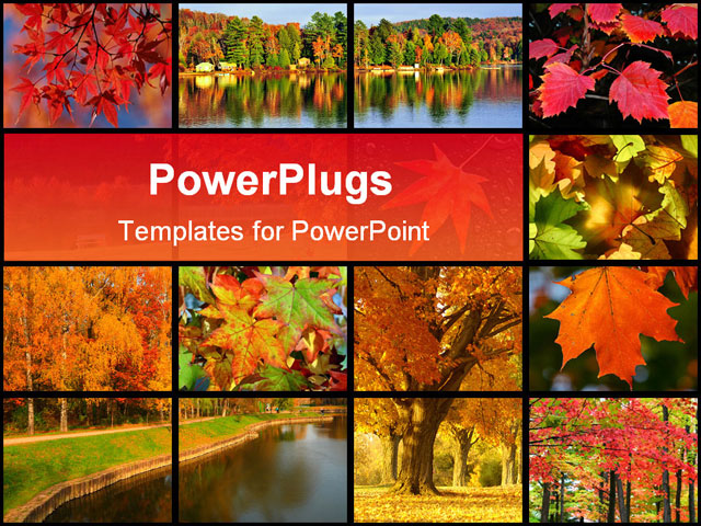 free fall powerpoint templates