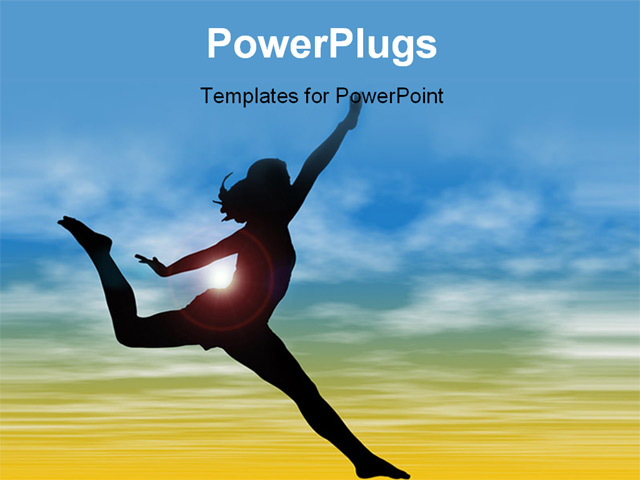 exercise powerpoint template