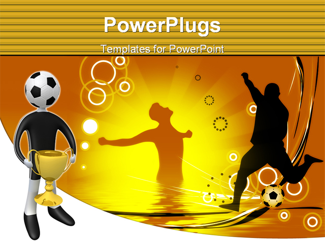 football figures powerpoint backgrounds - photo #45