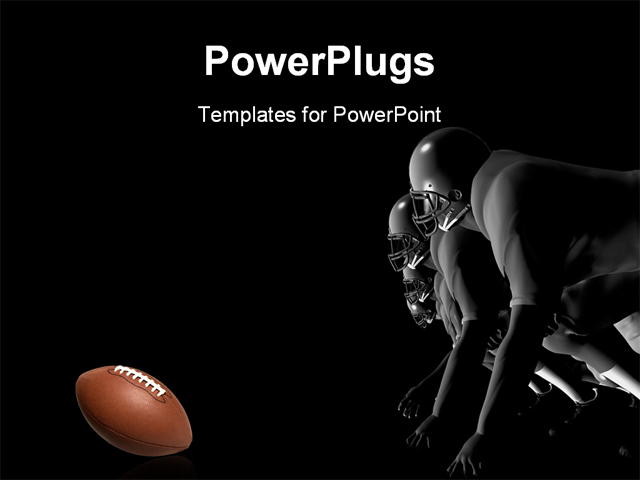 powerpoint template a number of rugby players trying to catch the ball 12816. Black Bedroom Furniture Sets. Home Design Ideas