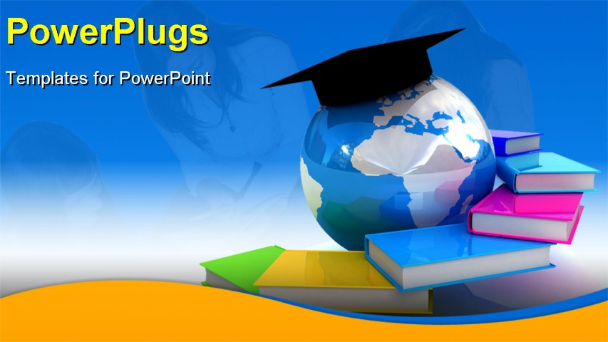 education background for powerpoint