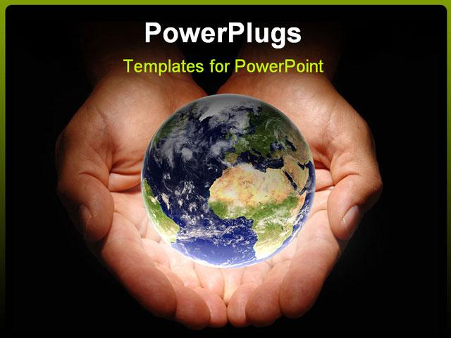 Powerpoint Background Hands Powerpoint Template Hands
