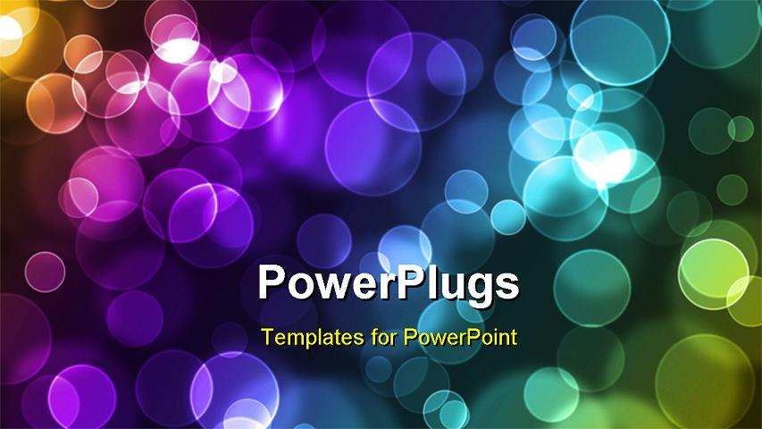 Colorful Abstract Powerpoint Templates Powerpoint Template Abstract