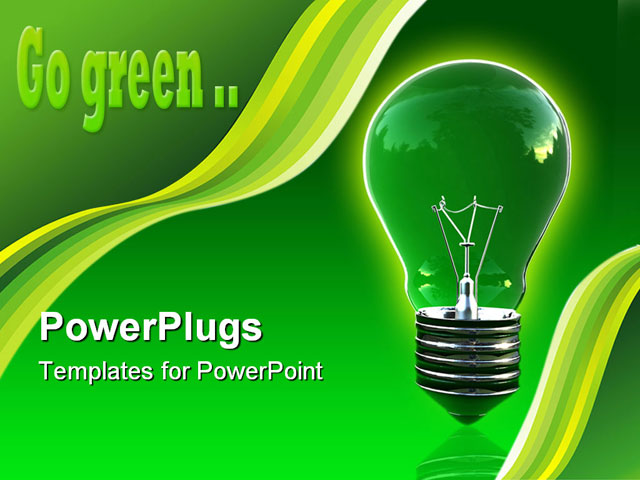 Green PowerPoint Templates for Presentations