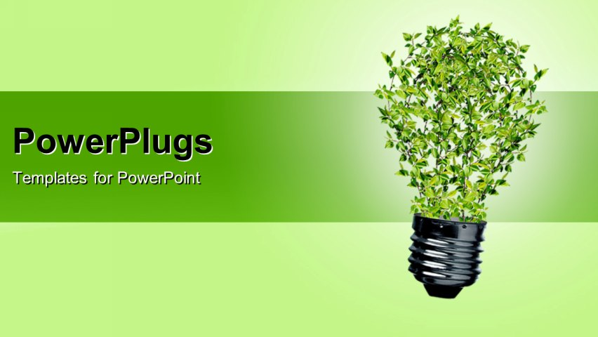 Green Energy Powerpoint Template Images - template design free download