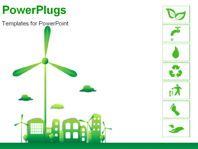 Green energy powerpoint template green energy powerpoint template powerpoint template green and ecology city with various green energy powerpoint template toneelgroepblik Gallery