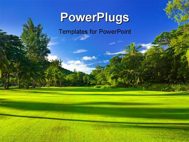 golf themes for powerpoint images, Modern powerpoint