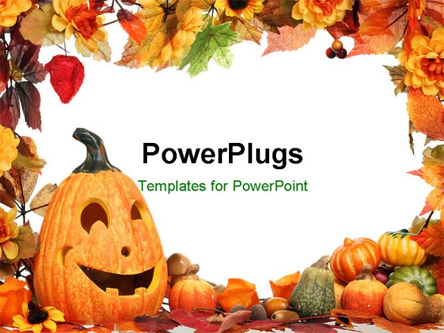 halloween themed powerpoint template 5000 spooky powerpoint