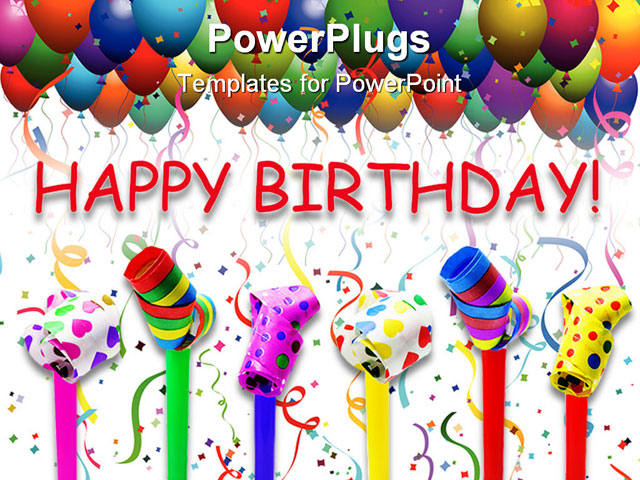 Powerpoint Birthday Template