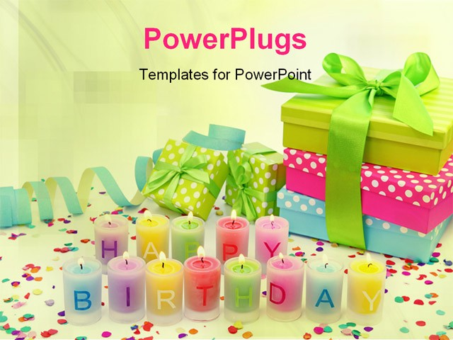 Happy Birthday Background Powerpoint 2018 Images Pictures