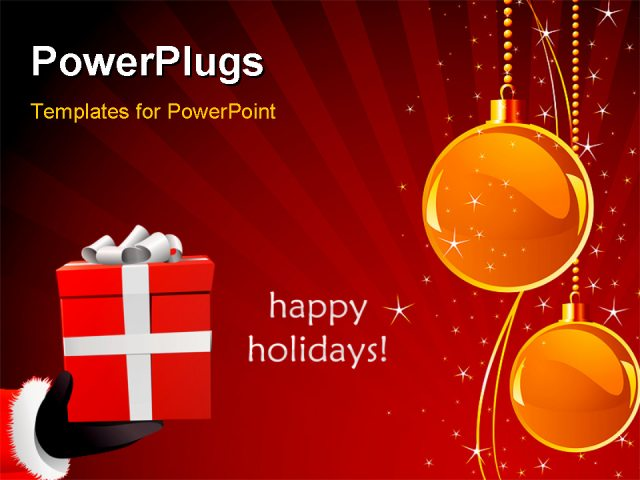 Happy holiday powerpoint template toneelgroepblik Images