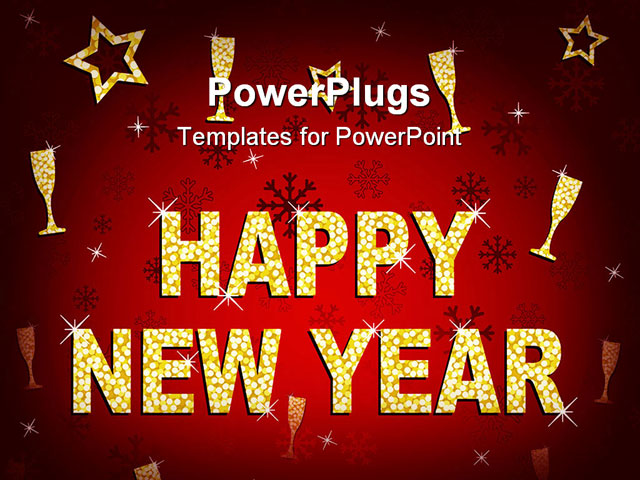 happy new year powerpoint template