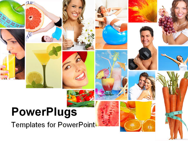 PowerPoint Template With Health