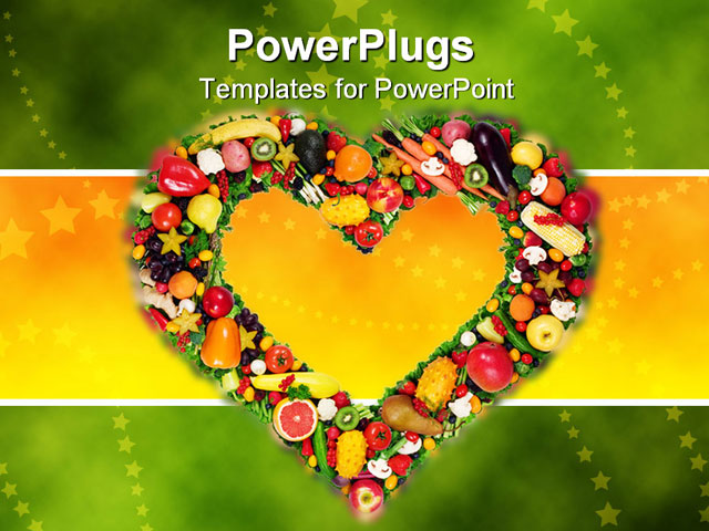 Free nutrition powerpoint templates quantumgaming fruits and vegetables background for powerpoint modern powerpoint toneelgroepblik Images