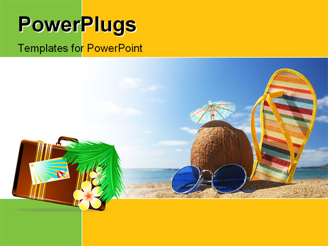 hawaii theme for powerpoint related keywords & suggestions, Modern powerpoint