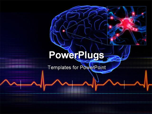 Brain powerpoint template solarfm powerpoint template a human system with gears instead of toneelgroepblik Choice Image