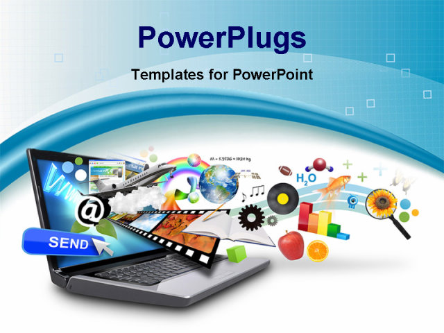 It powerpoint template animated water drop powerpoint template 4 free download powerpoint templates for computer science fast toneelgroepblik