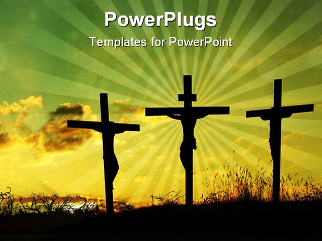 Jesus PowerPoint Templates and   PoweredTemplate