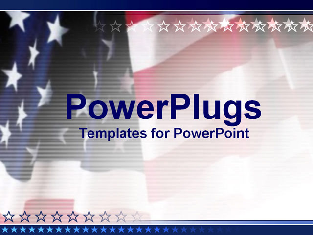 American flag powerpoint template northurthwall american flag powerpoint template toneelgroepblik Choice Image